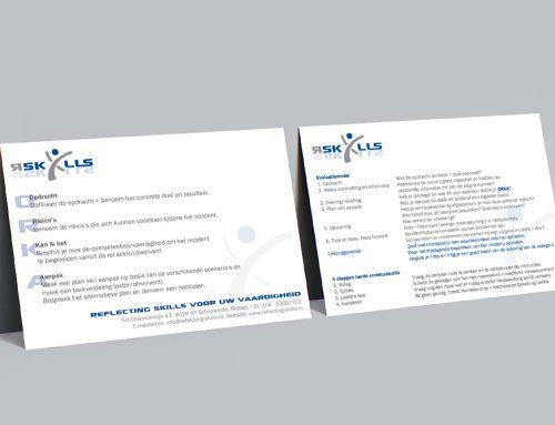 Portfolio Reflecting Skills Evaluatie-kaarten