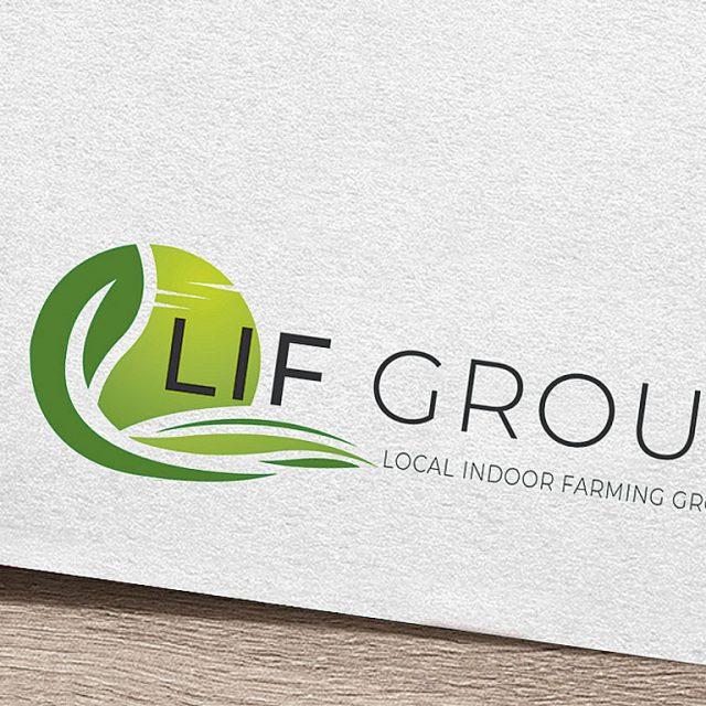 LIF Local Indoor Farming Group - Logo en Huisstijl