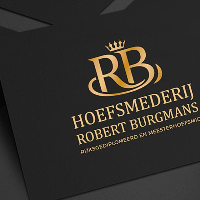 Hoefsmederij Robert Burgmans - Logo en Huisstijl