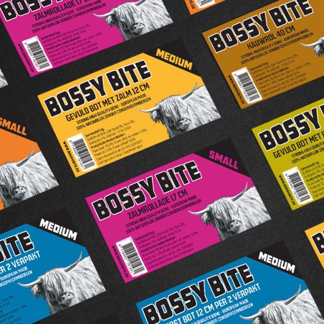 Bossy Bite - Etiket