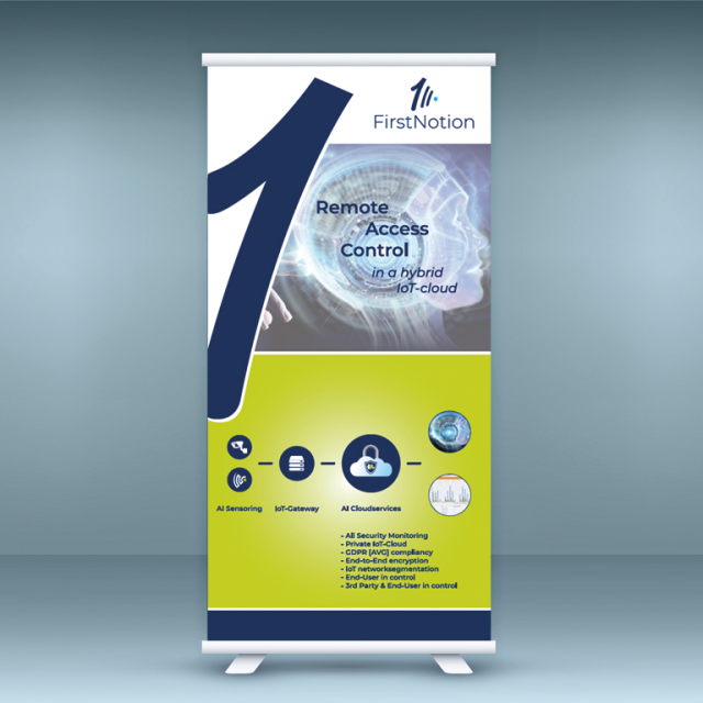 FirstNotion - RollUp Banner