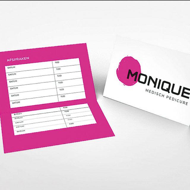 Monique Pedicure - Logo en Huisstijl